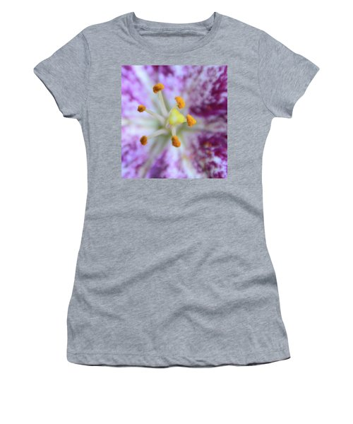 Close Up Flower Women's T-Shirt (Athletic Fit)