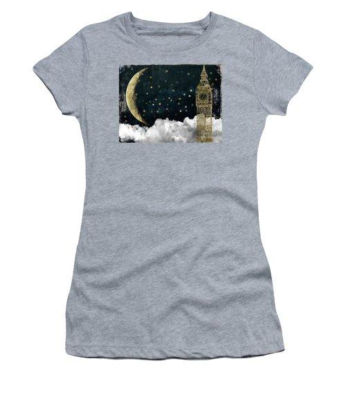 Cloud Cities London Women's T-Shirt (Athletic Fit)