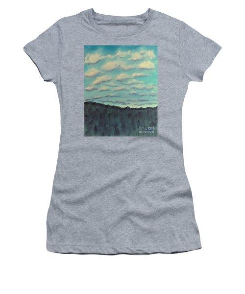 Cloud Study Women's T-Shirt (Athletic Fit)