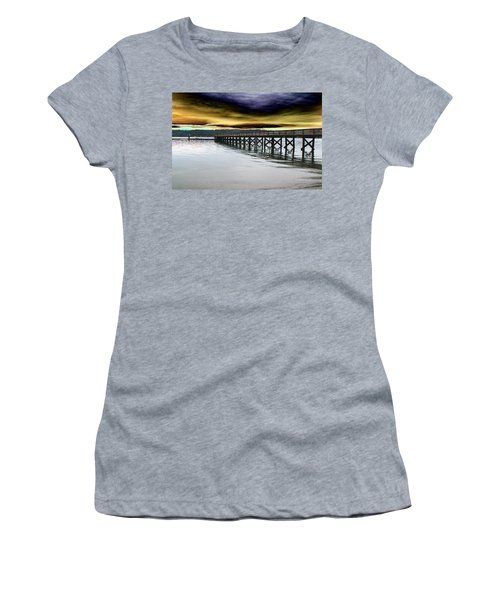 Clouds Over Illahee Women's T-Shirt (Athletic Fit)