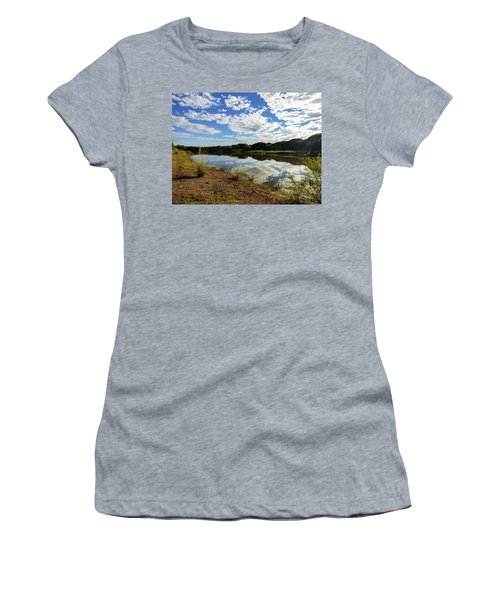 Clouds Reflecting On The Uruguay River Women's T-Shirt