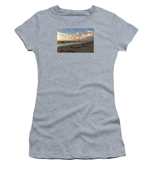 Cloudy Horizon  Women's T-Shirt (Athletic Fit)