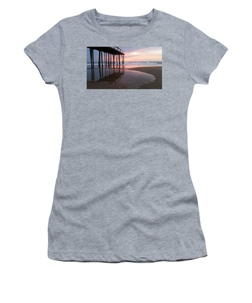 Cloudy Morning Reflections Women's T-Shirt (Junior Cut)