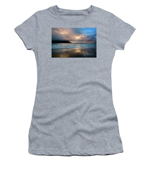 Cloudy Sunset At Hanalei Bay Women's T-Shirt