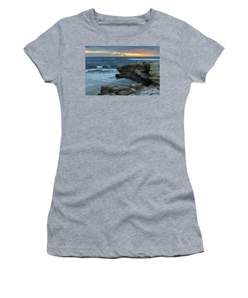 Cloudy Sunset At La Jolla Shores Beach Women's T-Shirt