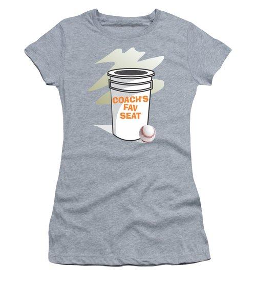 Coach's Favorite Seat Women's T-Shirt (Athletic Fit)