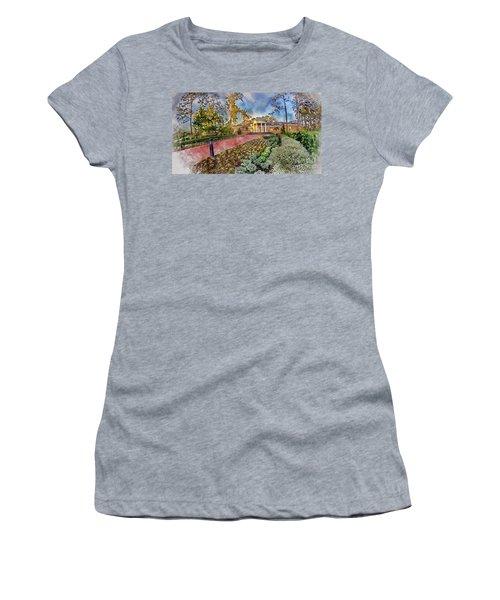 Coastal Carolina University Digital Watercolor Women's T-Shirt