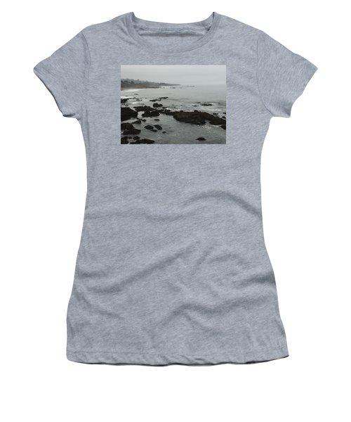 Coastal Fog Women's T-Shirt (Athletic Fit)