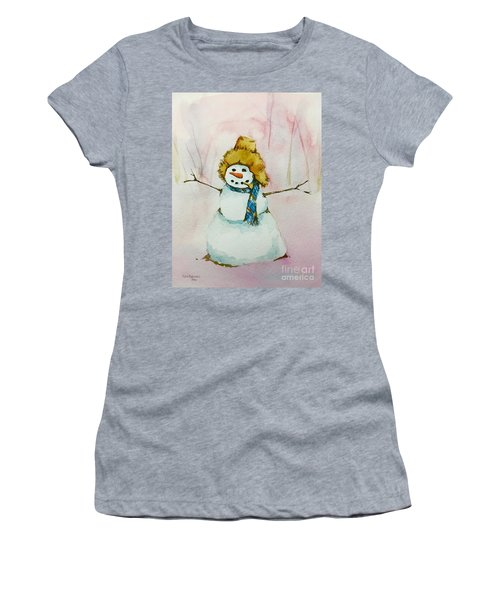 Cody's First Frosty Women's T-Shirt (Junior Cut) by Lynn Babineau