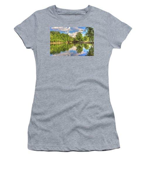 Coe Lake Women's T-Shirt (Junior Cut) by Brent Durken