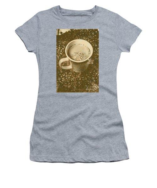 Coffee And Nostalgia Women's T-Shirt