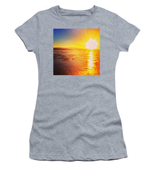 College Sunset Women's T-Shirt