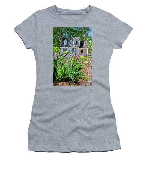 Colonial Garden1 Women's T-Shirt (Athletic Fit)