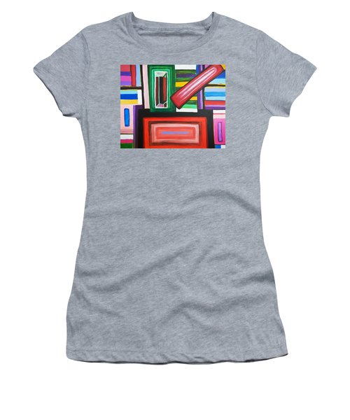Color Squares Women's T-Shirt