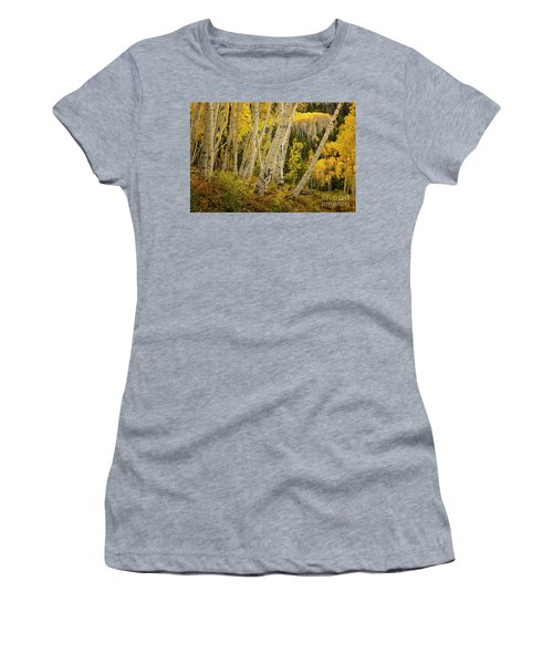 Colorado Fall Aspen Grove Women's T-Shirt (Athletic Fit)