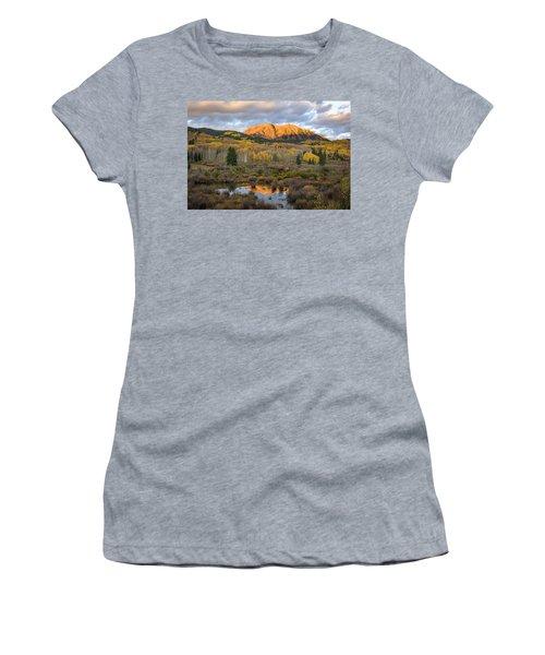 Colorado Sunrise Women's T-Shirt (Junior Cut) by Phyllis Peterson