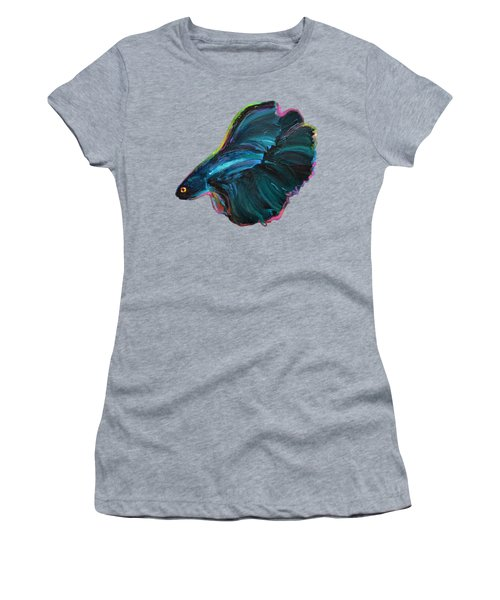 Colorful Betta Women's T-Shirt (Athletic Fit)