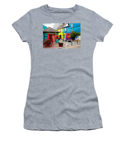 Colorful Corner Women's T-Shirt (Athletic Fit)