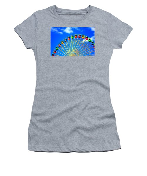 Colorful Ferris Wheel Women's T-Shirt