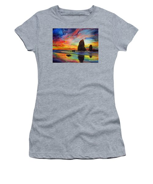 Colorful Solitude Women's T-Shirt