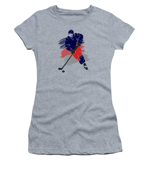 Colubus Blue Jackets Player Shirt Women's T-Shirt (Athletic Fit)
