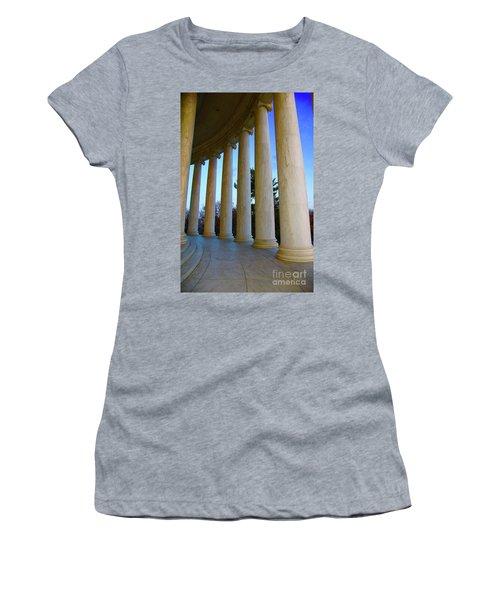 Columns At Jefferson Women's T-Shirt (Athletic Fit)
