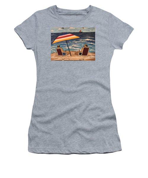 Comb Over Brothers Women's T-Shirt (Junior Cut) by Jeffrey Koss