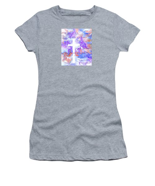 Come Unto Me Women's T-Shirt (Athletic Fit)