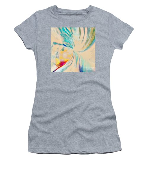 Women's T-Shirt featuring the mixed media Compassion by Jessica Eli