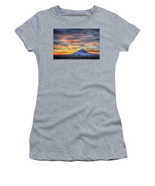 Complicated Sunrise Women's T-Shirt (Junior Cut) by Fiskr Larsen