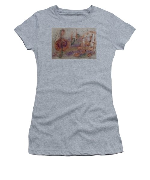 Composition In B Flat Women's T-Shirt