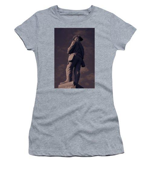 Confederate Statue Women's T-Shirt