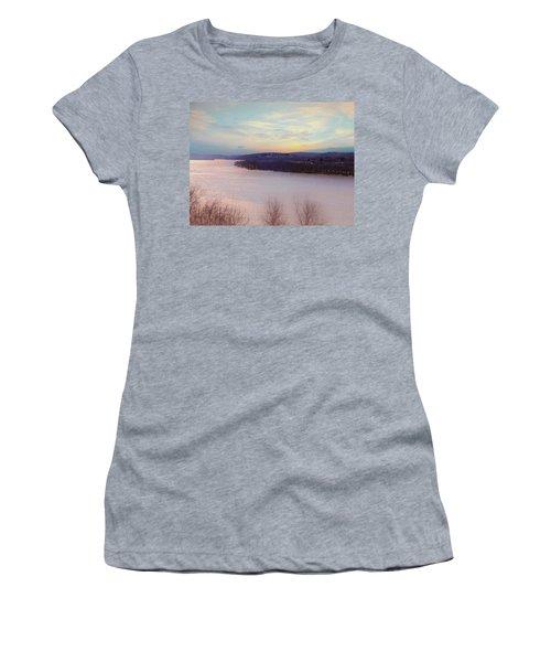 Connecticut River View From Gillette Castle. Women's T-Shirt