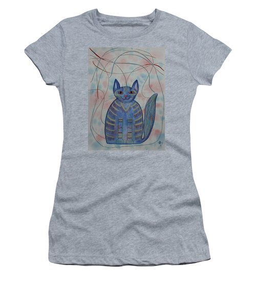 Connection Cat  Women's T-Shirt (Athletic Fit)