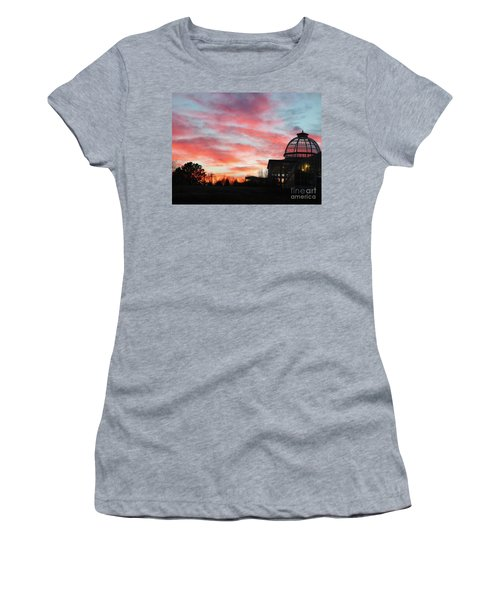 Conservatory At Sunset Women's T-Shirt (Athletic Fit)