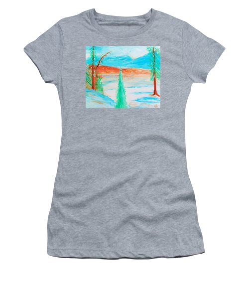 Cool Landscape Women's T-Shirt (Athletic Fit)