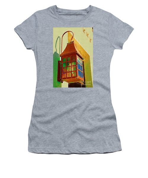 Copper Lantern Women's T-Shirt (Athletic Fit)