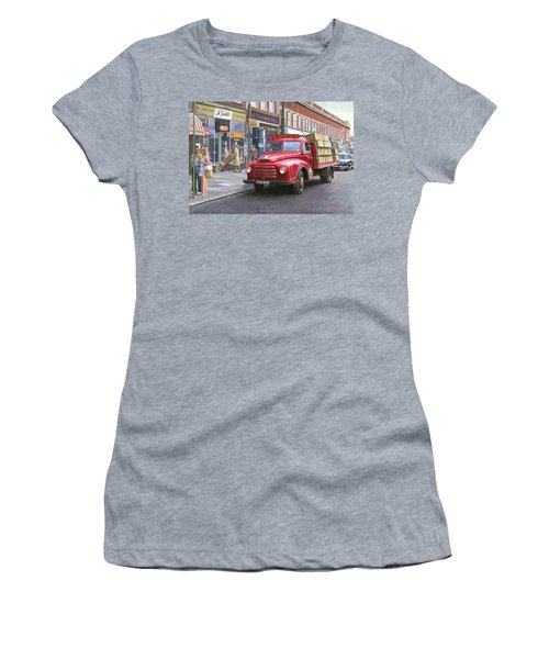 Corona Drinks Lorry. Women's T-Shirt (Athletic Fit)
