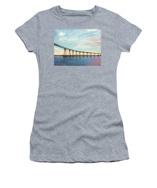 Coronado Bridge Sunset A Women's T-Shirt