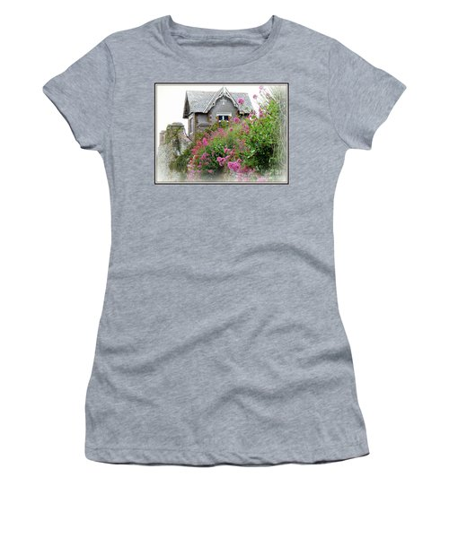 Cottage On The Hill Women's T-Shirt (Junior Cut) by Anne Gordon