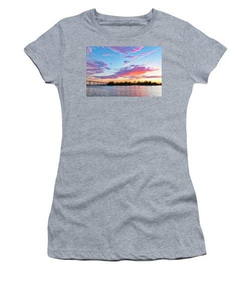 Cotton Candy Sunset Women's T-Shirt