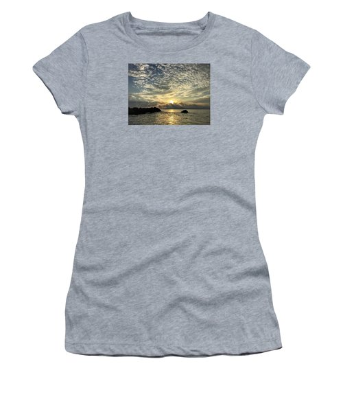 Cotton Clouds Women's T-Shirt (Athletic Fit)