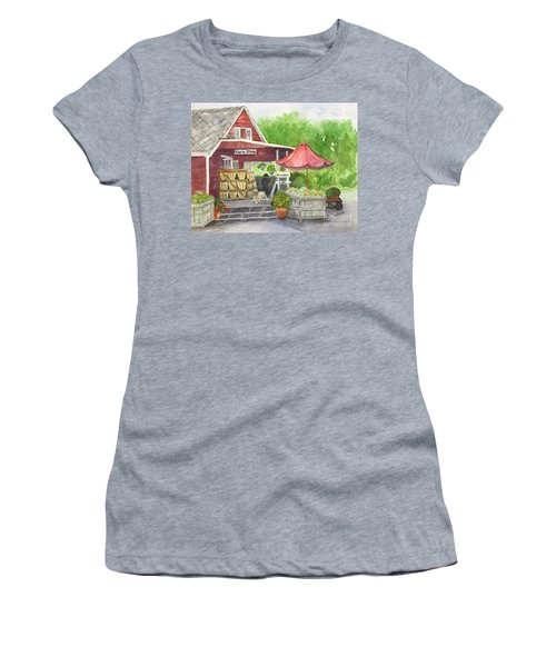 Country Farmer's Market Women's T-Shirt (Athletic Fit)