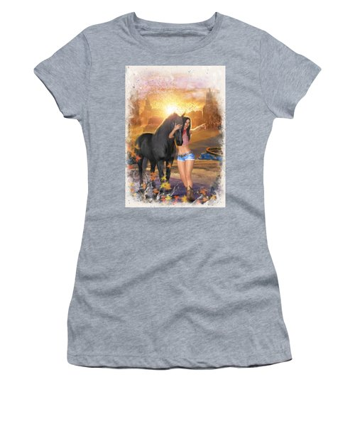 Country Memories 2 Women's T-Shirt (Athletic Fit)