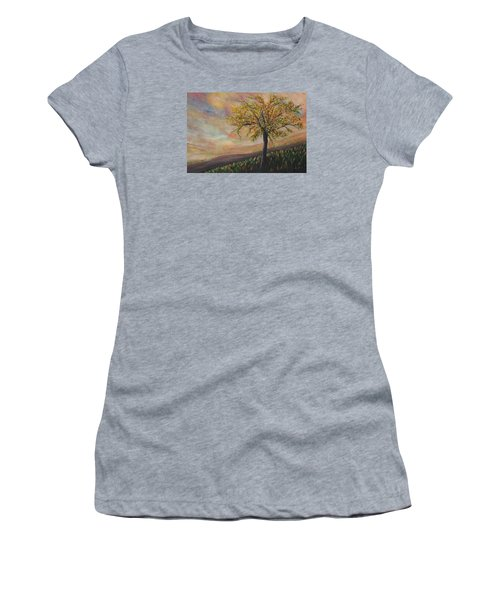 Country Morn Women's T-Shirt (Athletic Fit)