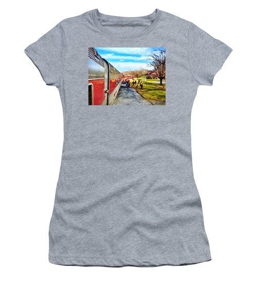 Country Train Depot Women's T-Shirt