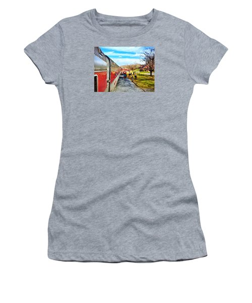 Country Train Depot Women's T-Shirt (Athletic Fit)