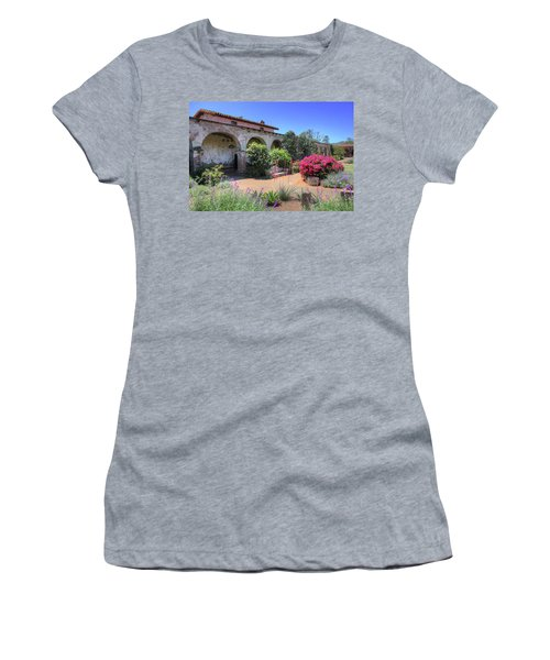 Courtyard Garden Women's T-Shirt (Athletic Fit)
