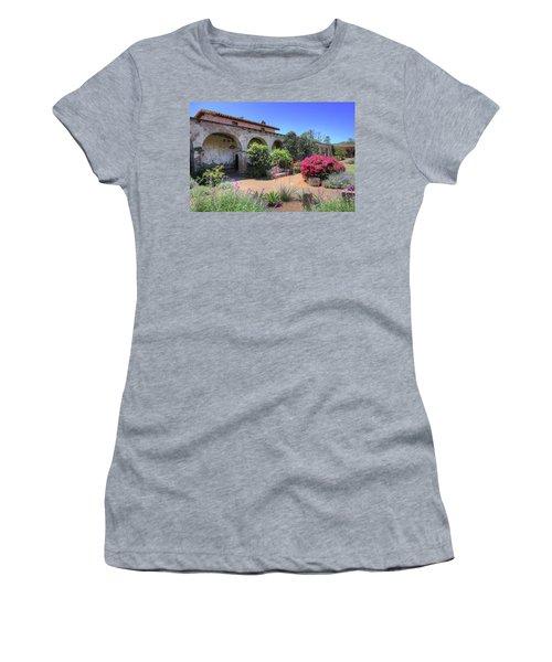 Courtyard Garden Women's T-Shirt (Athletic Fit)