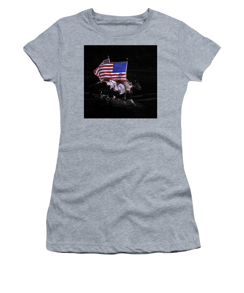 Cowboy Patriots Women's T-Shirt (Junior Cut) by Ron White